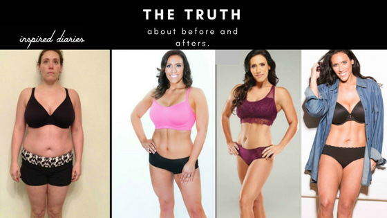 My before and after isn't what you think at all! Visit inspirediaries.com to learn more.