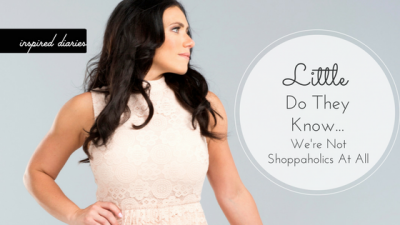 Body image and shopping go hand in hand for so many.